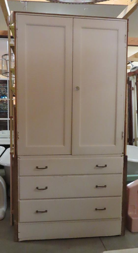 Mahogany 2 Door Cabinet