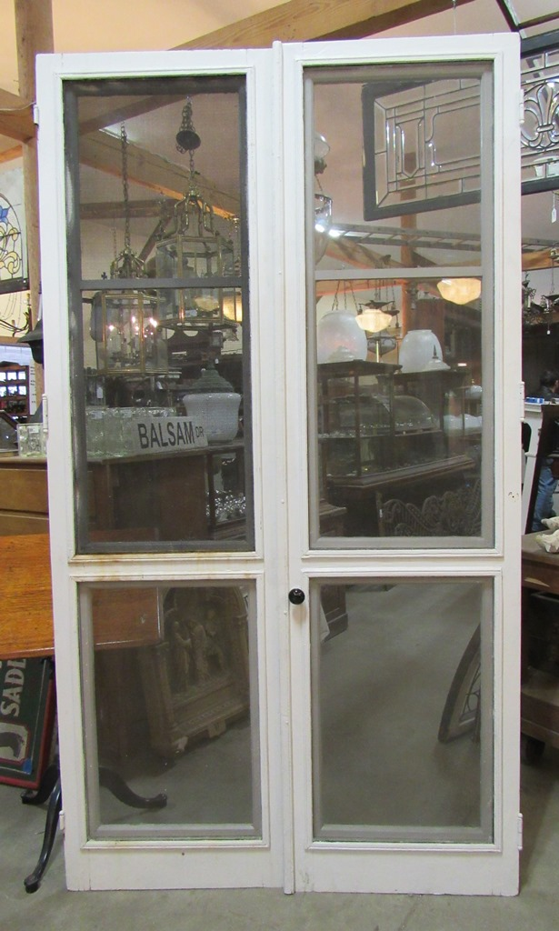 Nor 39 east architectural salvage of south hampton nh for Double storm doors