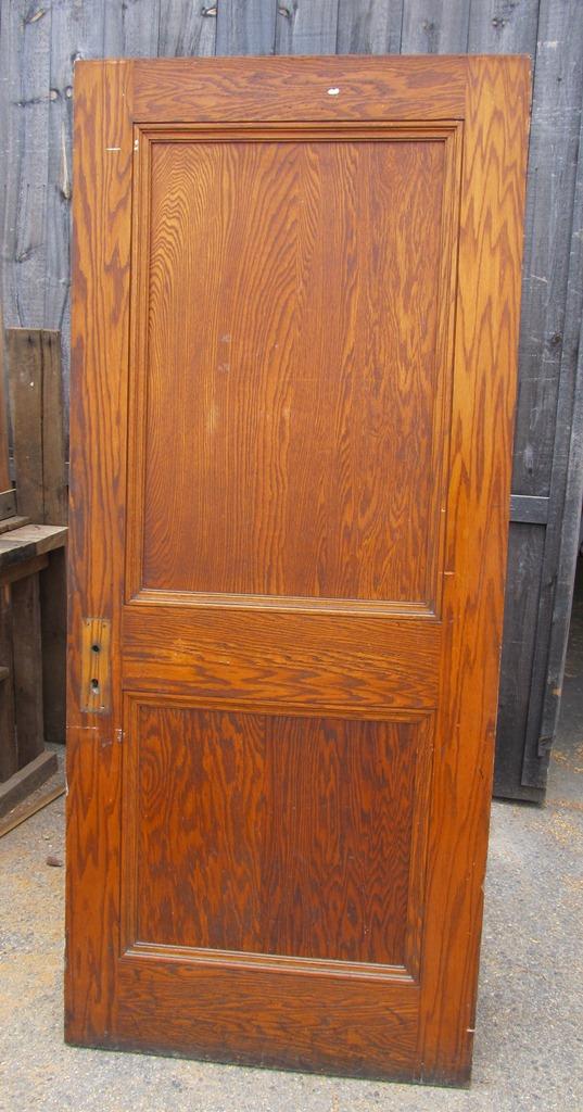 2 Panel Oak Doors 4 Available 29 7/8