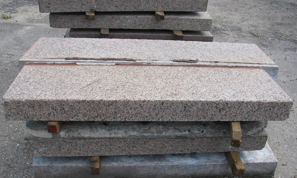 salvaged granite BJT KTT