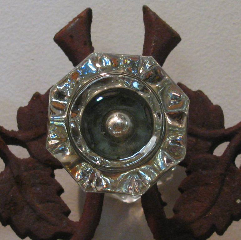Octagional Glass Knobs PJ · Antique Door Knobs PJ