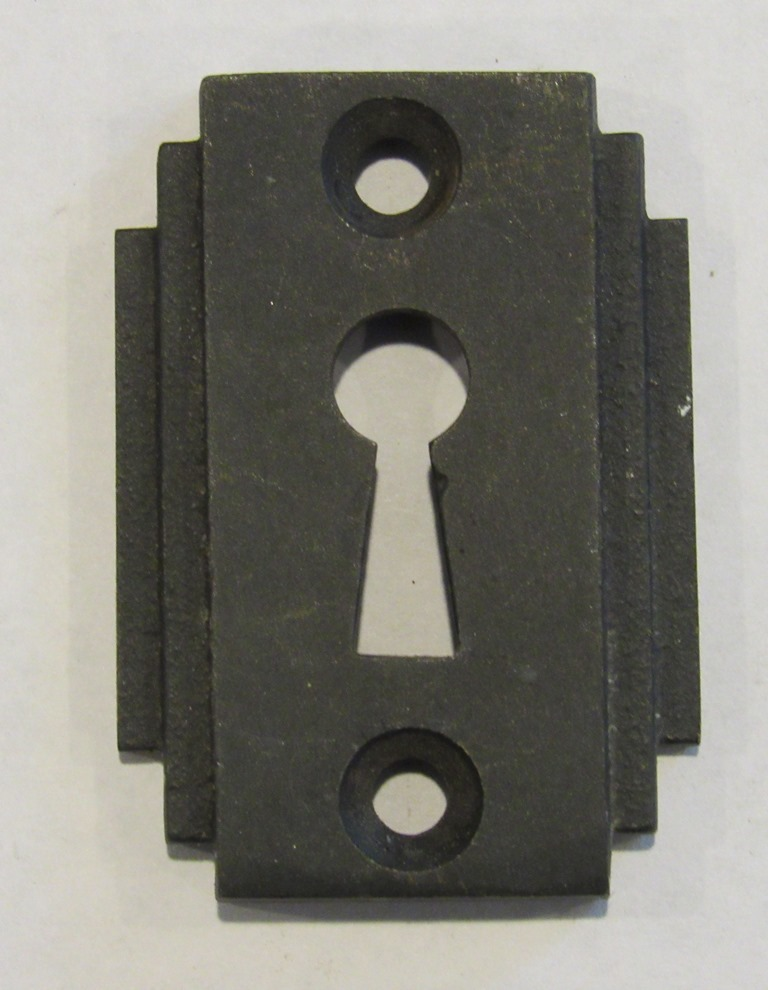 antique salvaged key plates