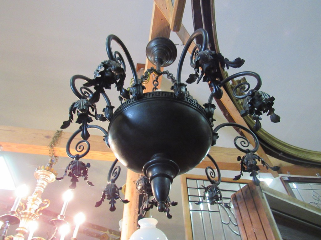 Noreast architectural salvage of south hampton nh antique tiered crystal chandelier aloadofball Gallery