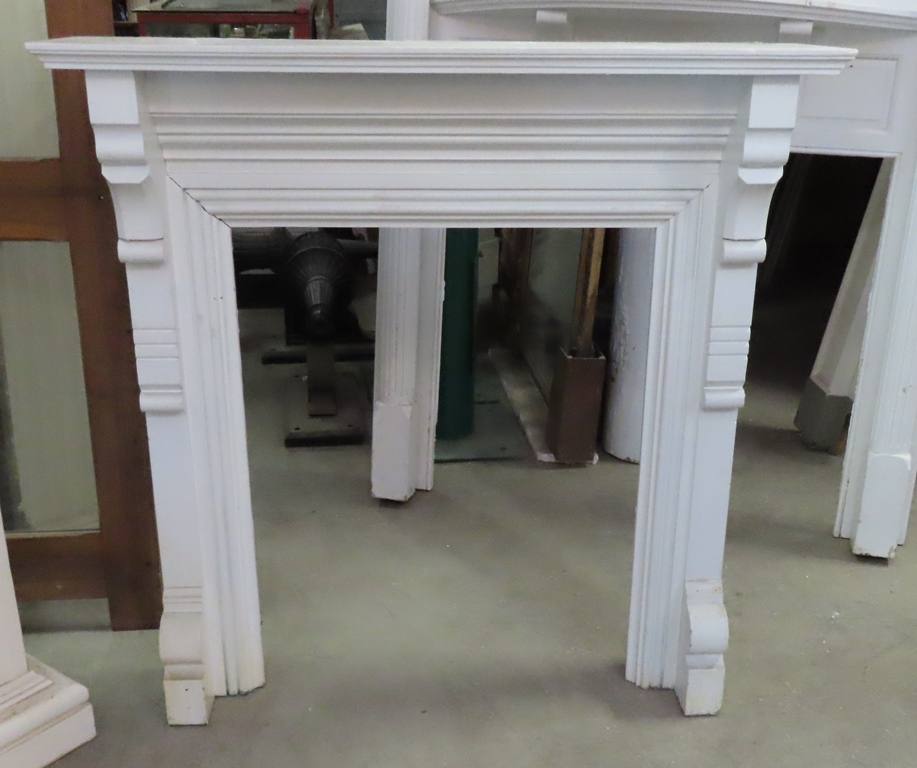 painted victorian mantel - Antique Fireplace Mantels