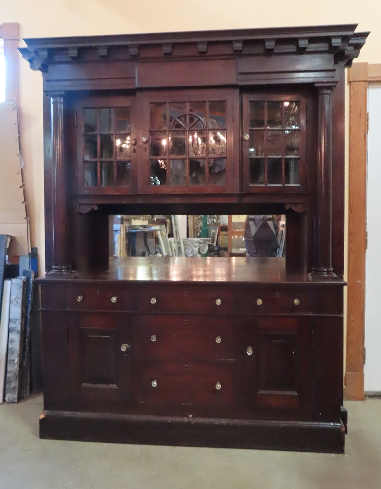 antique bakers cabinet nor east architectural salvage of south hampton nh 10613